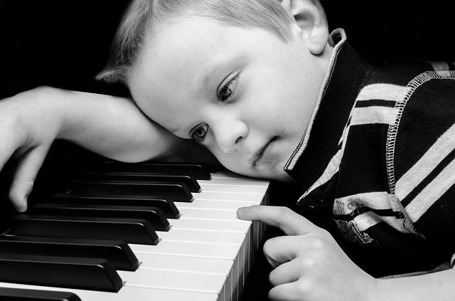 begin piano